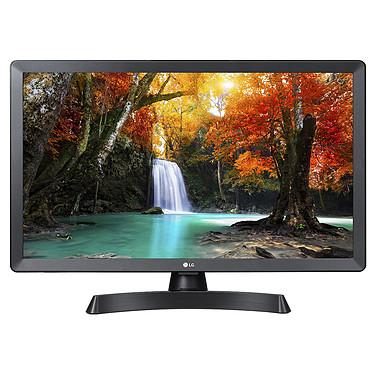 "LG 28TL510V-PZ Téléviseur/Moniteur LED HD 27.5"" (70 cm) 16/9 - 1366 x 768 pixels - HDMI - USB - Son 2.0 10W"