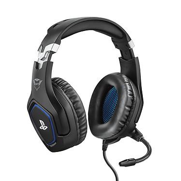Trust Gaming GXT 488 Forze Black Auriculares con mircofono gamer - circum-aural cerrado - sonido estéreo - micrófono flexible - Jack de 3.5 mm - compatible con PC y PlayStation 4