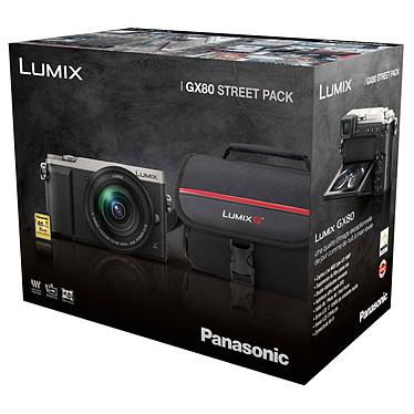 Panasonic DMC GX80 M Pack Argent