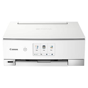 Canon PIXMA TS8351 Blanc Imprimante Multifonction jet d'encre couleur 3-en-1 (USB / Wi-Fi)
