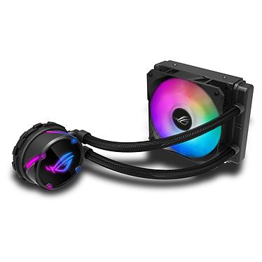 ASUS ROG Strix LC120 RGB Kit de Watercooling 120 mm pour processeur avec éclairage ARGB Aura Sync