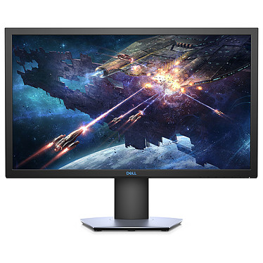 """Dell 24"""" LED - S2419HGF 1920 x 1080 pixels - 1 ms (gris à gris) - Format large 16/9 - 144 Hz - AMD FreeSync - DisplayPort - HDMI - Pivot - Noir/Bleu (Garantie constructeur 3 ans)"""
