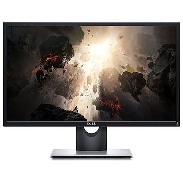 """Dell 23.8"""" LED - SE2417HGX 1920 x 1080 pixels - 5 ms (gris à gris) - Format large 16/9 - Dalle TN - 75 Hz - FreeSync - HDMI/VGA - Noir/Gris"""