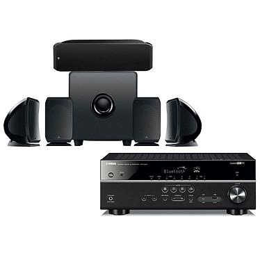 Yamaha HTR-4072 Noir + Focal Pack Cinema+
