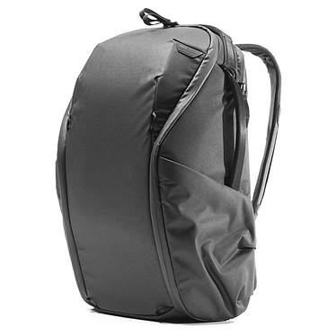 """Peak Design Everyday Backpack ZIP V2 15L Noir Sac à dos polyvalent 15 litres - APN + Accessoires - Emplacement PC 13"""" - Ouverture intégrale - Séparateurs amovibles - Tissu recyclé résistant à la pluie"""