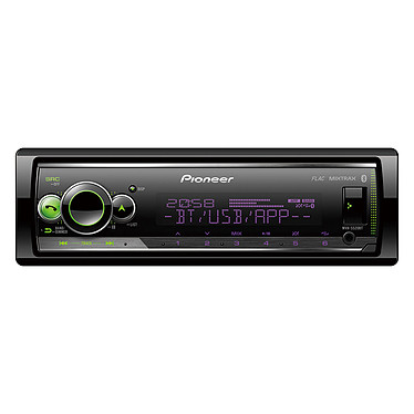 Pioneer MVH-S520BT Autoradio Bluetooth / USB compatible avec iPhone et smartphone Android et Spotify