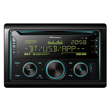 Pioneer FH-S720BT Autoradio 2-DIN CD / Bluetooth / USB compatible avec iPhone et smartphone Android et Spotify