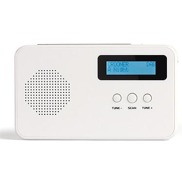 Livoo RA1049 Blanc Radio compacte FM/DAB+ avec RDS et prise casque