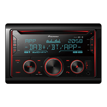 Pioneer FH-S820DAB Autoradio 2-DIN CD / DAB+ / Bluetooth / USB compatible avec iPhone et smartphone Android et Spotify