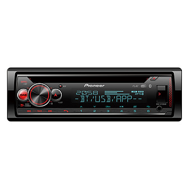 Pioneer DEH-S720DAB Autoradio Bluetooth / DAB+ / USB compatible avec iPhone et smartphone Android et Spotify