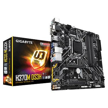Gigabyte H370M DS3H Carte mère micro-ATX Socket 1151 Intel H370 Express - 4x DDR4 - SATA 6Gb/s + M.2 - USB 3.0 - 2x PCI-Express 3.0 16x