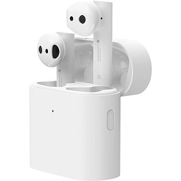 Xiaomi Mi True Wireless Earphones 2 Écouteurs intra-auriculaires sans fil - Bluetooth 5.0 - microphone - assistant vocal - autonomie 14 heures - boîtier charge/transport