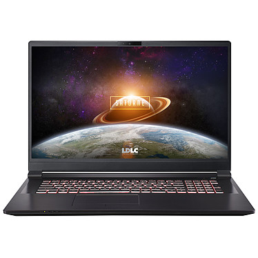 "LDLC Saturne TB67-8-S2H10 Intel Core i5-9400 8 Go SSD 240 Go + HDD 1 To 17.3"" LED Full HD 144 Hz NVIDIA GeForce GTX 1650 4 Go Wi-Fi AC/Bluetooth Webcam (sans OS)"