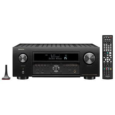 Denon AVC-X6500H Noir Ampli-tuner Home Cinema 11.2 - Dolby Atmos / DTS:X / Auro-3D - IMAX Enhanced - 8x HDMI 4K UHD, HDCP 2.2 - HDR - Wi-Fi/Bluetooth - AirPlay 2 - Multiroom - Amazon Alexa