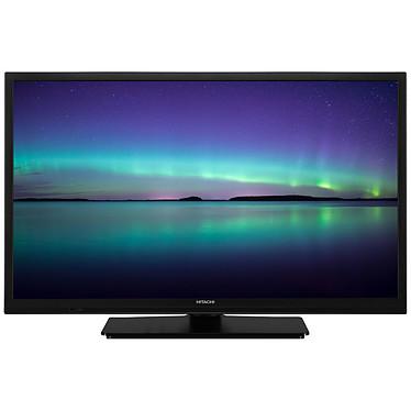 """Hitachi 24HE2100 Téléviseur LED HD 24"""" (61 cm) 16/9 - 1366 x 768 pixels - Wi-Fi - HDMI - USB - Son 2.0 5W"""