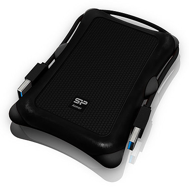 "Silicon Power Armor A30 2 To Noir (USB 3.0) Disque dur externe 2.5"" sur port USB 3.0"