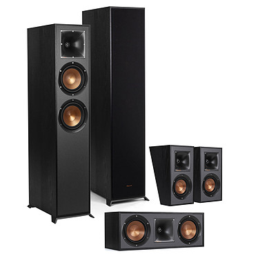 Klipsch Pack R-620F HCS 5.0 Pack d'enceintes 5.0 Dolby Atmos