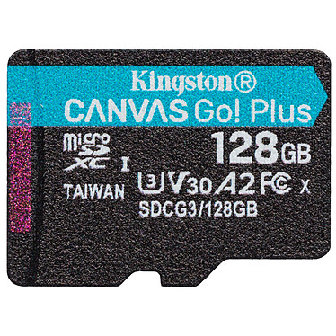 Avis Kingston Canvas Go! Plus SDCG3/128GB