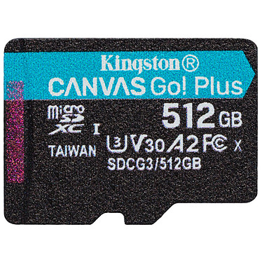 Avis Kingston Canvas Go! Plus SDCG3/512GB