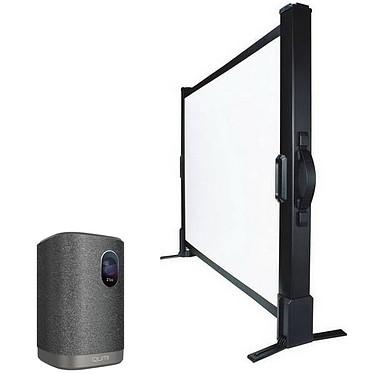 Vivitek Qumi Z1H + LDLC Ecran de table - Format 4:3 - 102 x 76 cm Vidéoprojecteur portable LED DLP 720P HD - 300 Lumens - Bluetooth audio - Batterie intégrée - HDMI/USB/SD - Audio 2 x 5 Watts + Ecran de table - Format 4:3 - 102 x 76 cm