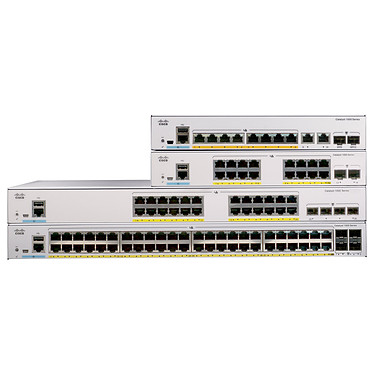 Cisco Catalyst 1000 C1000-16T-2G-L Switch manageable 16 ports 10/100/1000 Mbps + 2 ports SFP