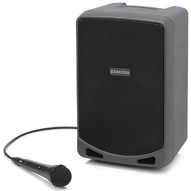 Samson Expedition XP106 Sono portable 100 Watts - Mixage 4 canaux - Bluetooth - Autonomie 20h - XLR/AUX - LINE IN/OUT - Micro filaire inclus