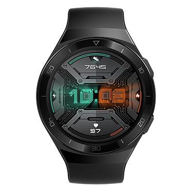 """Huawei Watch GT 2e (Noir) Montre connectée - Étanche 50 m - GPS/GLONASS - Cardiofréquencemètre - Écran AMOLED de 1.39"""" -  454 x 454 pixels - 4 Go - Bluetooth 5.1 - Lite OS - Bracelet en fluoroélastomère"""