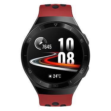 """Huawei Watch GT 2e (Rouge) Montre connectée - Étanche 50 m - GPS/GLONASS - Cardiofréquencemètre - Écran AMOLED de 1.39"""" -  454 x 454 pixels - 4 Go - Bluetooth 5.1 - Lite OS - Bracelet en fluoroélastomère"""