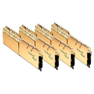 Avis G.Skill Trident Z Royal 256 Go (8 x 32 Go) DDR4 3600 MHz CL16 - Or