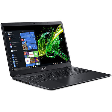 "Acer Aspire 3 A315-54K-32JR Intel Core i3-7020U 4 Go SSD 256 Go 15.6"" LED HD Wi-Fi AC/Bluetooth Webcam Windows 10 Famille 64 bits"