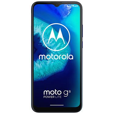 "Motorola Moto G8 Power Lite Smartphone 4G-LTE - Helio P35 Octo-Core 2.3 Ghz - RAM 4 Go - Ecran tactile 6.5"" 720 x 1600 - 64 Go - Bluetooth 4.2 - 5000 mAh - Android 9.0"