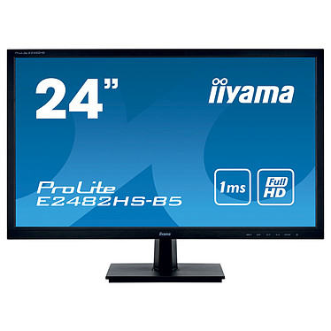 "iiyama 24"" LED - ProLite E2482HS-B5"