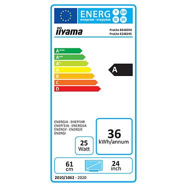 "iiyama 24"" LED - ProLite E2482HS-B5 pas cher"