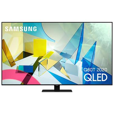 "Samsung QE85Q80T Téléviseur QLED 4K Ultra HD 85"" (214 cm) 16/9 - 3840 x 2160 pixels - HDR - Wi-Fi/Bluetooth/AirPlay 2 - Assistant Google/Alexa - 3800 PQI - Son 2.2.2 60W (Dalle native 100 Hz)"