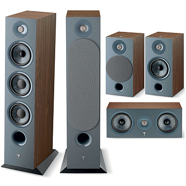 Focal Chora 826 HCM 5.0 Dark Wood Ensemble 5.0