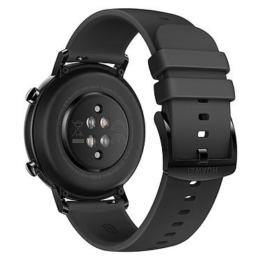 Huawei Watch GT 2 (42 mm / Fluoroélastomère / Noir) pas cher