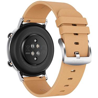 Huawei Watch GT 2 (42 mm / Cuir / Marron) pas cher