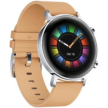 Avis Huawei Watch GT 2 (42 mm / Cuir / Marron)