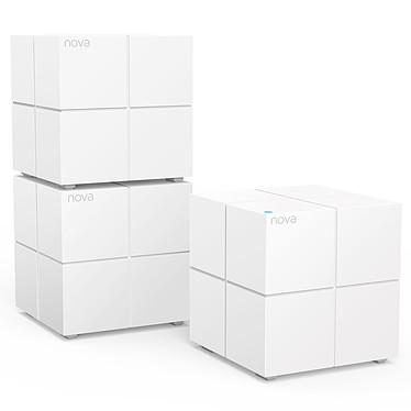 Tenda Nova MW6-3 Pack de 3 routeurs/points d'accès sans fil Dual-Band Wi-Fi Mesh AC1200 (AC867 + N300) Wave 2 MU-MIMO