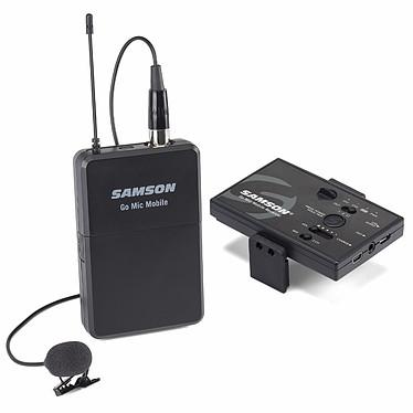 Samson Go Mic Mobile Lavalier Wireless System Système sans fil avec récepteur RF compact et micro lavalier (PC / Mac / Android / iOS)