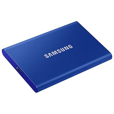 Samsung Portable SSD T7 500 Go Bleu Disque SSD externe USB 3.1 portable 500 Go avec cryptage des données (AES 256 bits)