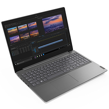 "Lenovo V15-IIL (82C500A3FR) Intel Core i5-1035G1 8 Go SSD 256 Go 15.6"" LED Full HD Wi-Fi AC/Bluetooth Webcam Windows 10 Professionnel 64 bits"