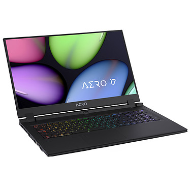 "Gigabyte Aero 17 XB-7FR1130SH Intel Core i7-10750H 16 Go SSD 512 Go 17.3"" LED Full HD 144 Hz NVIDIA GeForce RTX 2070 SUPER 8 Go Wi-Fi AX/Bluetooth Webcam Windows 10 Famille 64 bits"