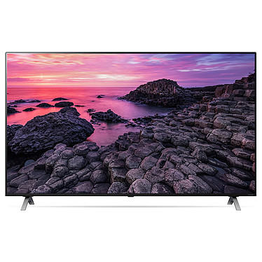 "LG 65NANO90 Téléviseur LED 4K Ultra HD 65"" (165 cm) - 3840 x 2160 pixels - HDR - Wi-Fi/Bluetooth/AirPlay 2 - Assistant Google/Alexa - Son 2.0 20W Dolby Atmos (Dalle native 100 Hz)"