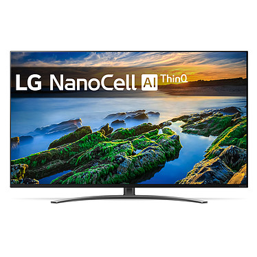 "LG 49NANO86 Téléviseur LED 4K Ultra HD 49"" (124 cm) - 3840 x 2160 pixels - HDR - Wi-Fi/Bluetooth/AirPlay 2 - Assistant Google/Alexa - Son 2.0 20W Dolby Atmos (Dalle native 100 Hz)"