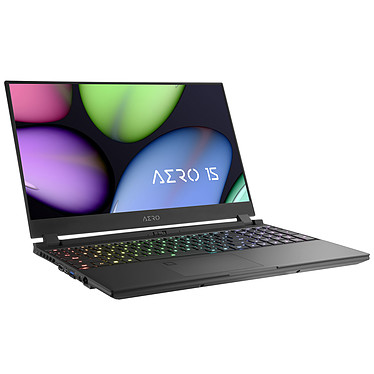 "Gigabyte Aero 15 YB-8FR1430SH Intel Core i7-10875H 32 Go SSD 512 Go 15.6"" Full HD 144 Hz NVIDIA GeForce RTX 2080 SUPER 8 Go Wi-Fi AX/Bluetooth Webcam Windows 10 Famille 64 bits"