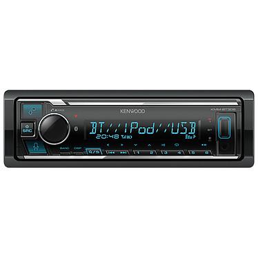 Kenwood KMM-BT306 Autoradio 1DIN avec écran LCD - FM/MP3/USB - Bluetooth 4.2 - Entrée AUX - Compatibilité Spotify / Amazon Alexa