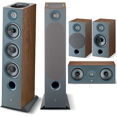 Focal Chora 826D HCM 5.0.2 Dark Wood Ensemble 5.0.2 Dolby Atmos