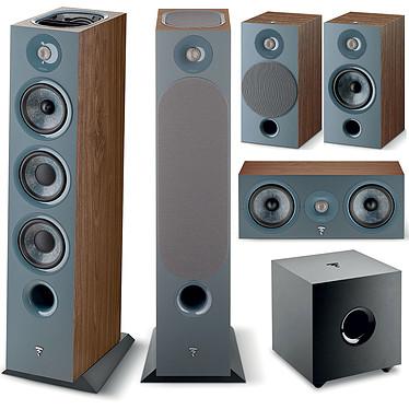 Focal Chora 826D HCM 5.1.2 Dark Wood Ensemble 5.1.2 Dolby Atmos