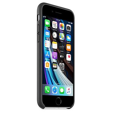 Avis Apple Coque en cuir Noir Apple iPhone SE